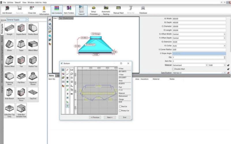Autodesk CAMduct Software est le partenaire idéal pour le Arrow d'Esprit