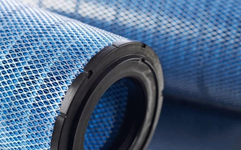 Filtre de filtration Donaldson-Torit pour une table de découpe plasma
