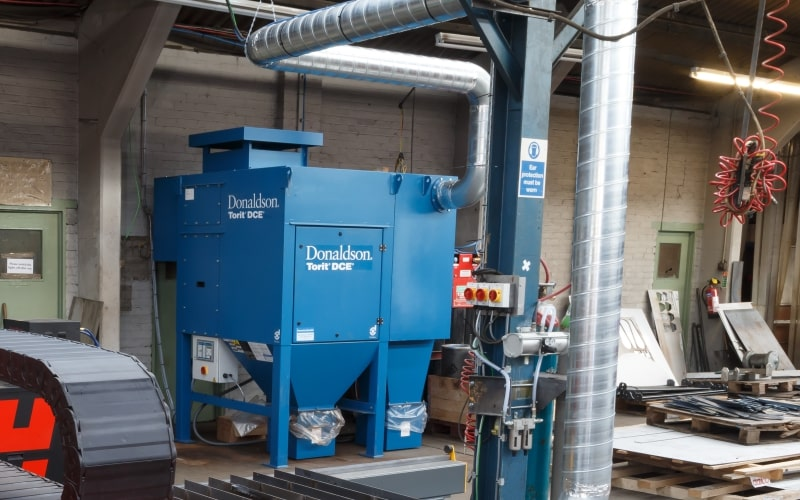 Esprit Automation CNC Fiber Lasers Filtration Solutions