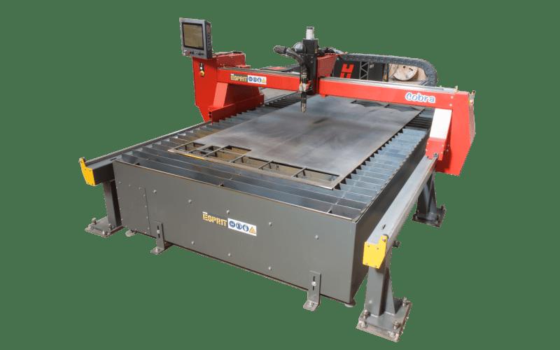 COBRA TABLE DE DÉCOUPE PLASMA CNC