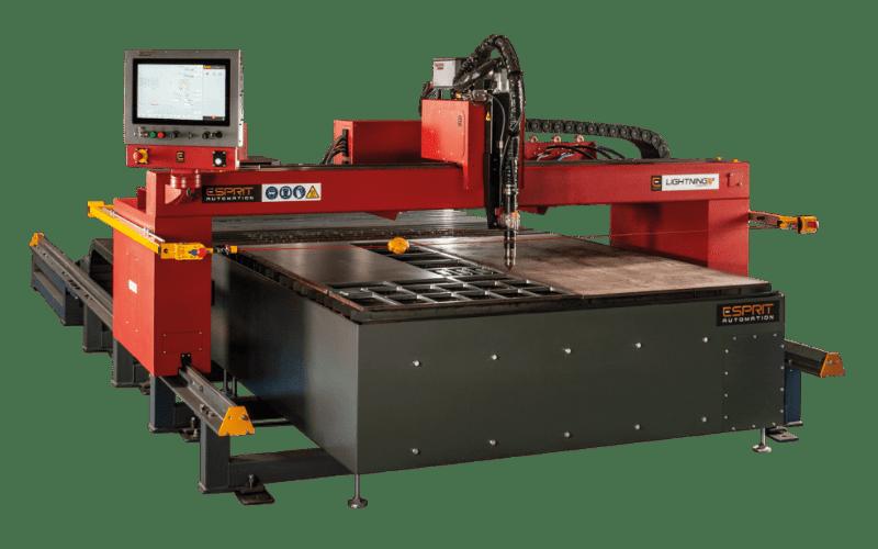 Machine oxycoupage CNC Lightning S d'Esprit Automation