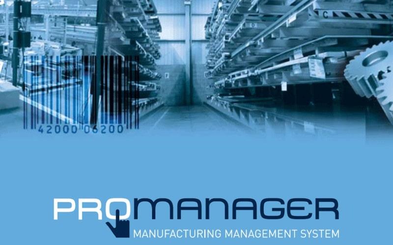 Logiciel ProManager Système d'exécution de fabrication