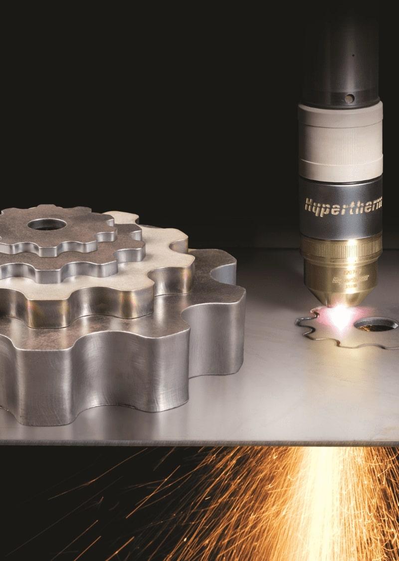 Esprit Automation intègre des composants hypertherm de classe mondiale dans ses découpeuses plasma