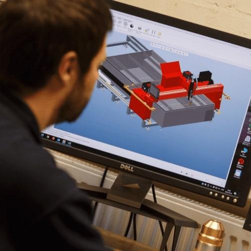 Développement du découpage au plasma chez Esprit Automation