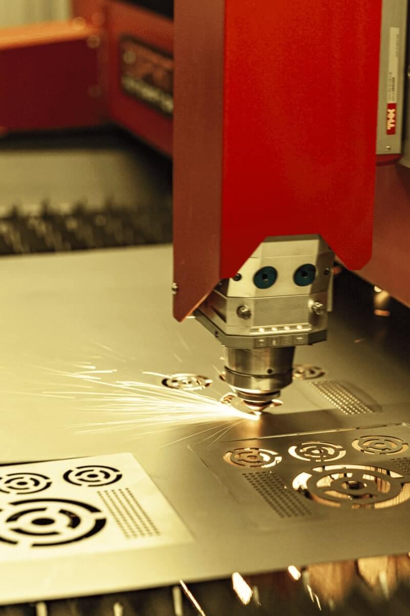 La tête de découpe laser de la machine de découpe laser à fibre Photon