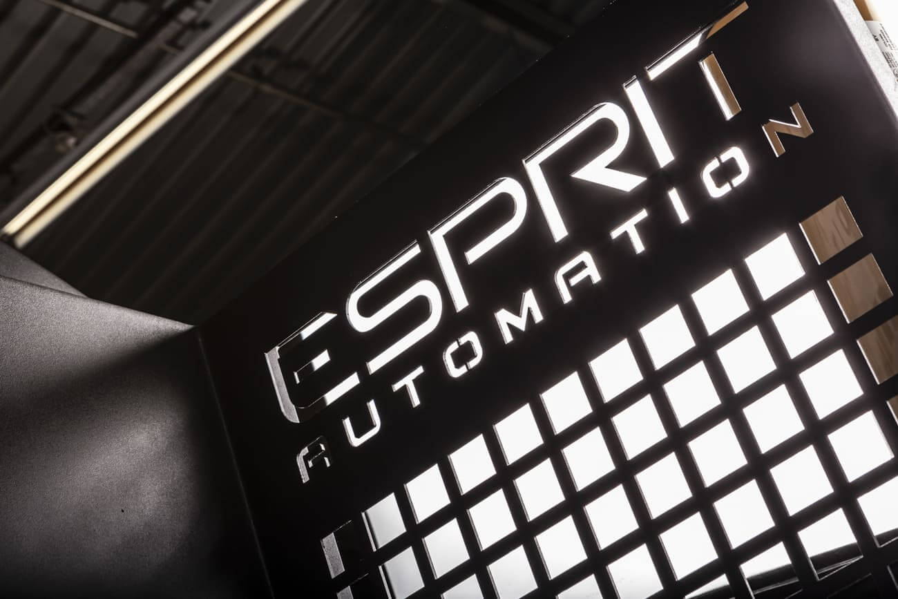 Esprit Automation Safety Panel of The Photon Fibre Lasers
