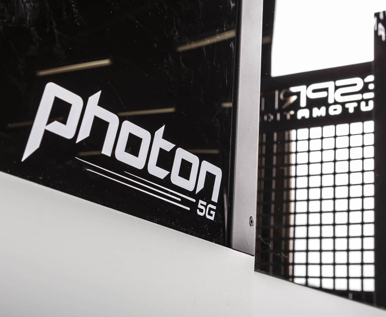Photon Fiber Laser Cutting Machine Logo & Safety Pannel
