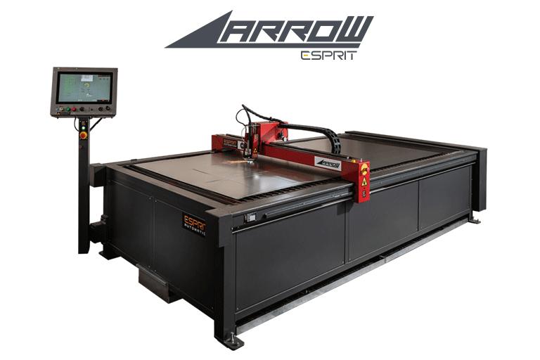 Esprit Automation ltd Arrow cnc plasma cutting machine with transparent background