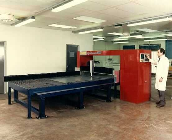 Early innovation at Esprit Automation first testing 1987-1992