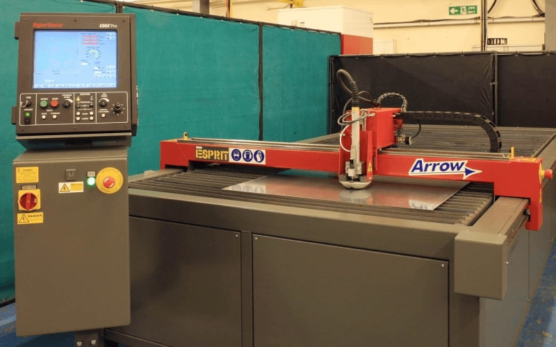 Esprit Automation Arrow CNC Plasma Cutter For Sale