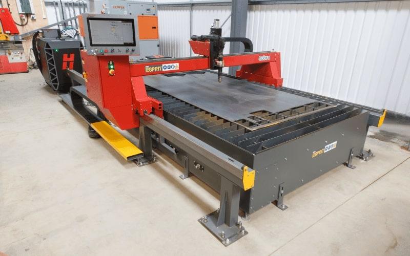 Esprit Automation Ltd Cobra CNC Plasma Cutting Table