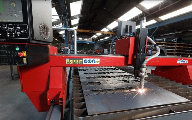 Esprit Automation Cobra Plasma Cutting Machine