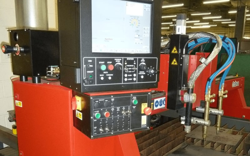 Esprit Automation Cobra used CNC Plasma Cutter UK