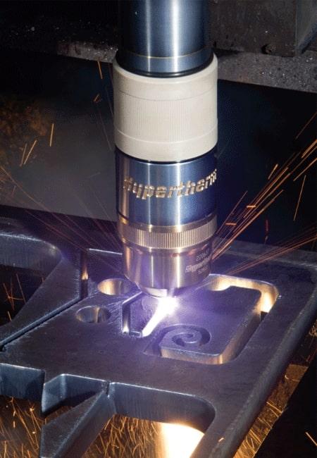 Esprit Automation Cost Effective Hypertherm Plasma Cutting Machine