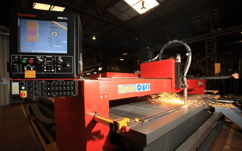 Esprit Automation Lightning HD used CNC Plasma Cutter UK For Sale