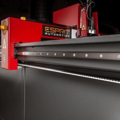 Esprit Automation Ltd Arrow Metal Sheet Plasma cutter Side View