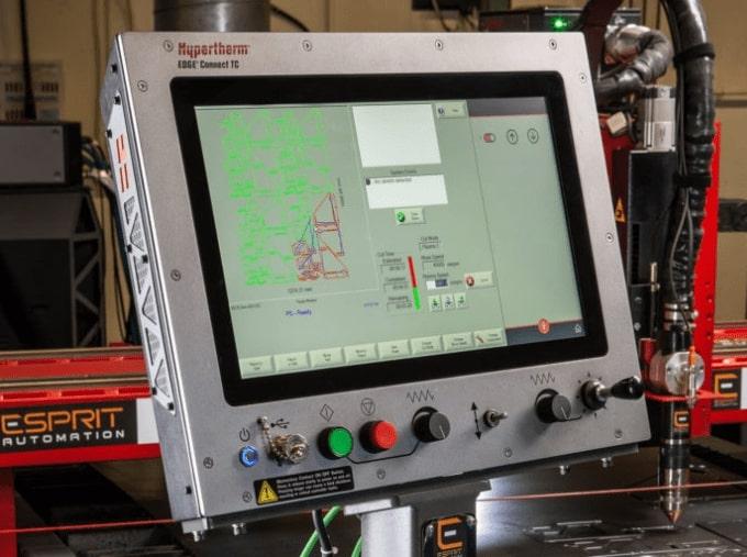 Esprit Automation Ltd Lightning D Edge Connect CNC Controller