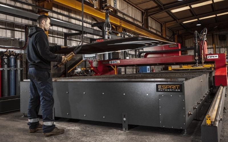 Esprit Automation ltd CNC Plasma Cutting Machines