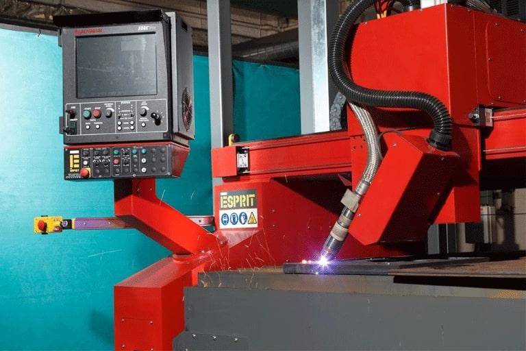 Esprit Automation Ltd Steel Beveler Machine