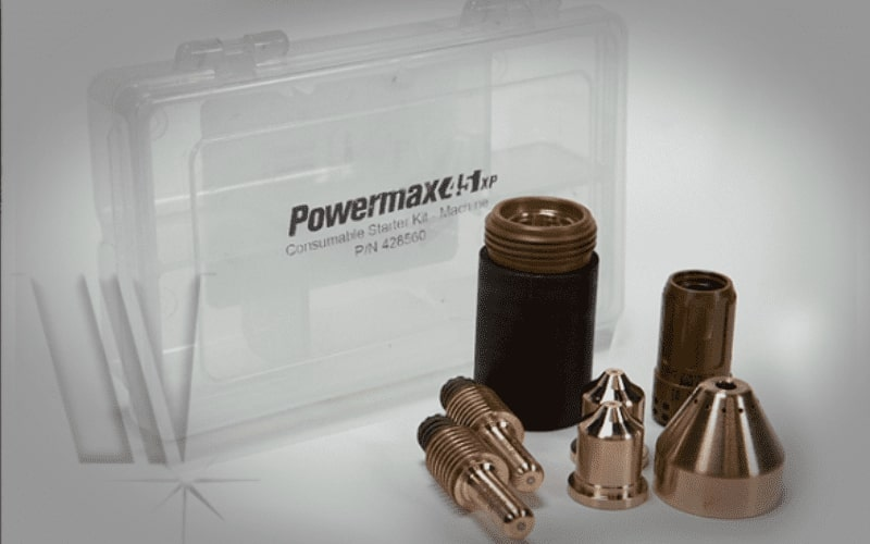 Hypertherm Powermax XP 45 consumables