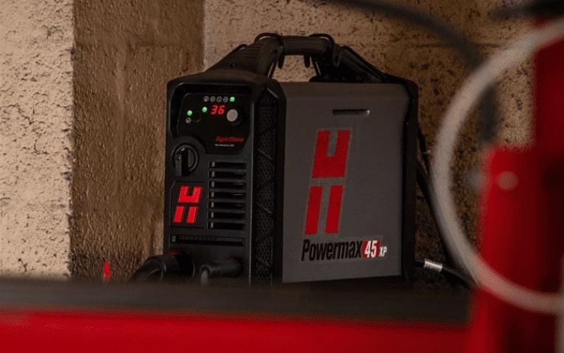 Hypertherm Powermax XP 45 on the Esprit Arrow