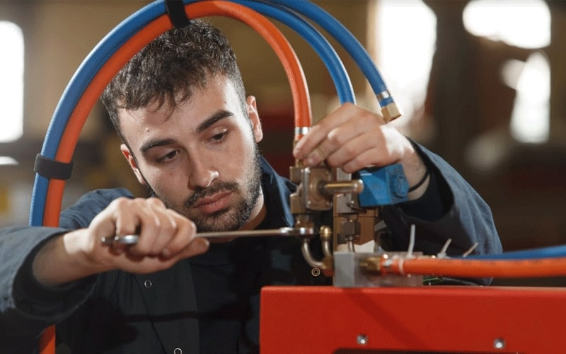 Esprit Automation Ltd Plate Beveling Machine Service & Support