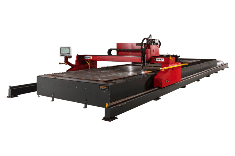 Viper CNC Profile Cutting Machine from Esprit Automation Transparent background