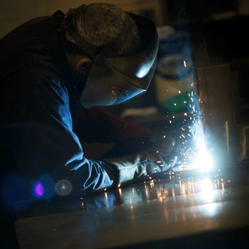 Esprit Automation ltd welding a used plasma cutter