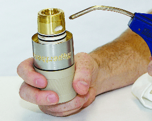 Clean torch with compressed air