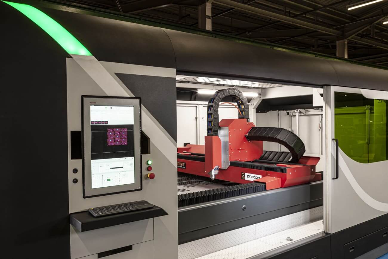 Esprit Automation Photon 5G Fiber Laser Cutting Machine
